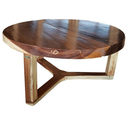 Suar Round Coffee Table - 40