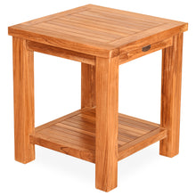 Teak Wood Tundra Side Table
