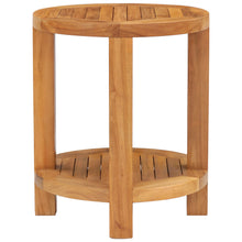 Teak Wood Tundra Round Patio Side Table