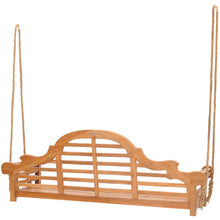Teak Wood Lutyens Triple Swing