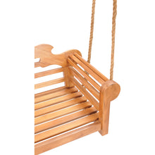 Teak Wood Lutyens Double Swing