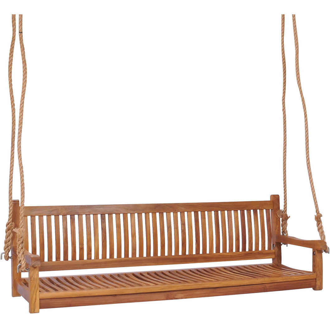 Teak Wood Elzas Triple Swing
