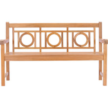 Teak Wood Double-O Bench, 5 Foot