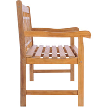 Teak Wood Triple-O Bench, 6 Foot