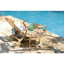 Teak Wood Titanic Outdoor Reclining Steamer Chair - Chic Teak