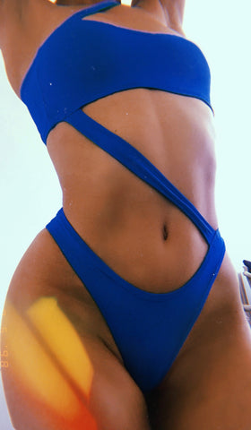 blue swimsuit planet earth two piece