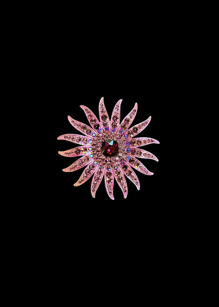 THE PINK SUN BROOCH