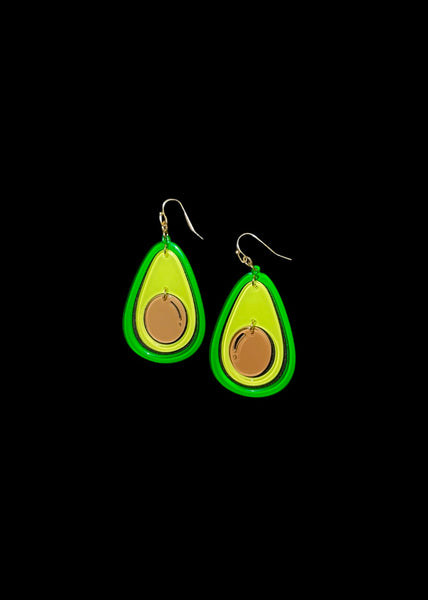 AVOCADOS - 3D EARRINGS