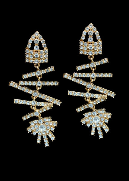 THE FISHBONE EARRINGS