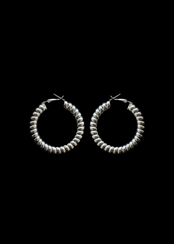 THE TELEPHONE WIRE HOOPS 2""