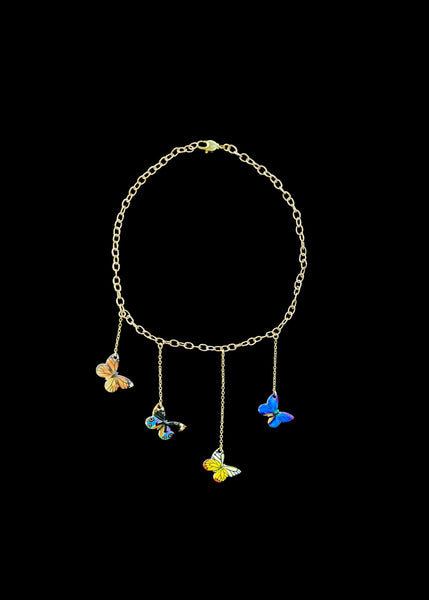 BUTTERFLY FIELDS CHOKER / NECKLACE