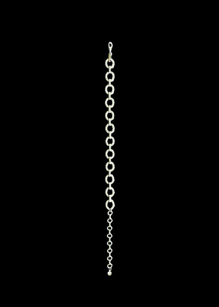 THE CRYSTAL OVAL ANKLET