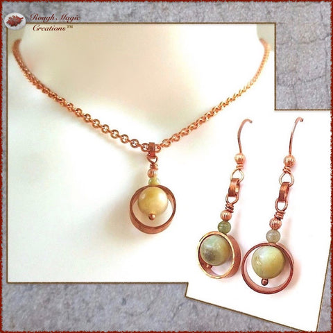 Rough Magic Creations Collection - Handmade Jewelry Sets