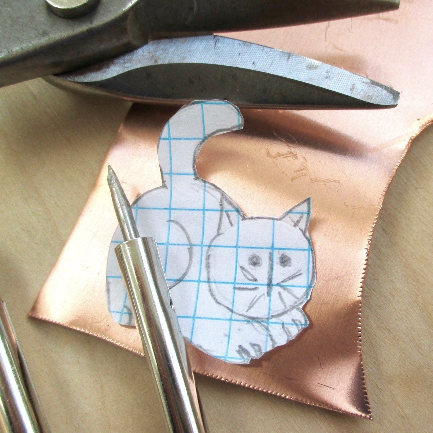 The Second Life of the Copper Cat Brooch