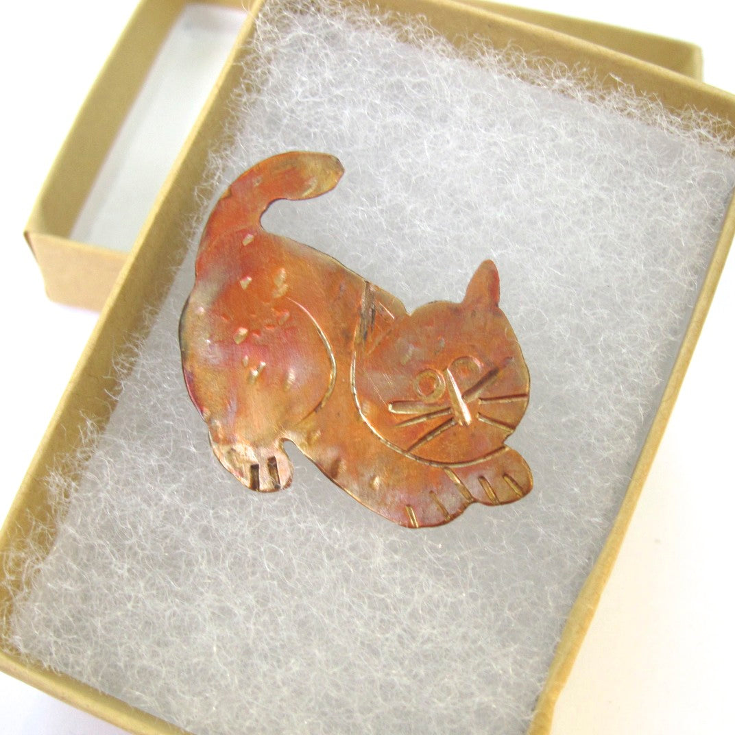 The Ninth Life of the Copper Cat Brooch
