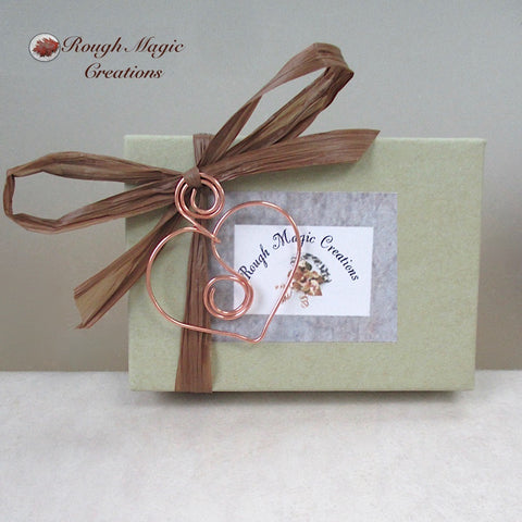 Rough Magic Creations complementary presentation box to accompany your purchased item.