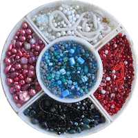 Lazy Susan's Beads and Supplies on Prospero Lane