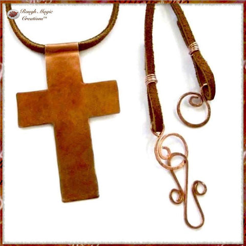 Rough Magic Creations handmade jewelry for Christian men and women.