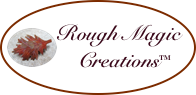 Handmade jewelry online shop Rough Magic Creations website