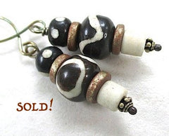 Replication of Ancient Tibetan Dzi Beads.