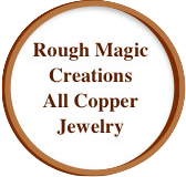 Rough Magic Creations All Copper Jewelry Link