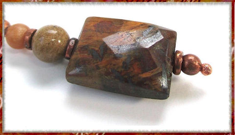 Tiger eye gemstone jewelry