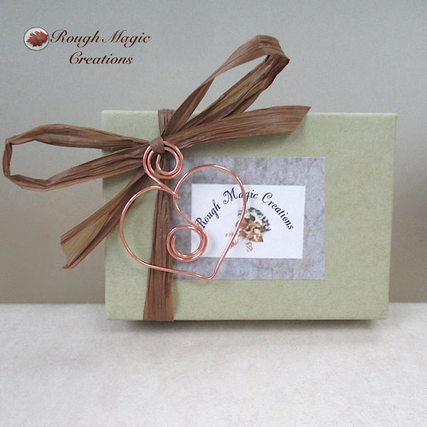 Rough Magic Creations complementary presentation box for handmade earrings