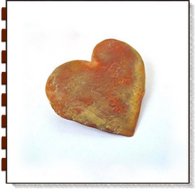 Load image into Gallery viewer, Rustic Hammer Textured Copper Heart Brooch