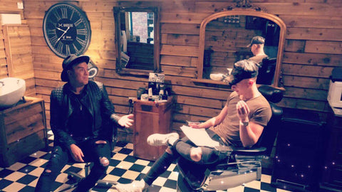Luxury-Hot-Towel-Face-Shaving-Course-Barbers-of-BT45-Magherafelt