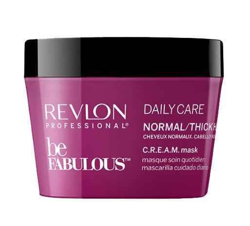 Revlon Be Fabulous Daily Care Cream Mask For Normal / Thick Hair 200ml