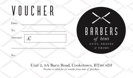 Barbers Of BT80 Voucher