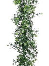 Boxwood Garland - 9' Long - Set of 6 - Two Tone Green
