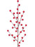 "Berry Branch Spray - 19"" Tall - Box of 24 - Choice of Color"