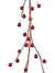 Berry Garland - 6' Long - Box of 12 - Red