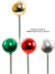 Plastic Millimeter Ball Pick - 40mm Diameter - Box of 144 - Choice of Color