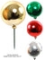 Plastic Millimeter Ball Pick - 150mm Diameter - Choice of Color