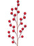 "Berry Branch Spray - 18"" Tall - Box of 24 - Choice of Color"