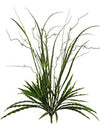 "Mixed Grass Bush - 28"" Tall - Set of 12 - Green"