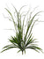 "Mixed Grass Bush - 28"" Tall - Box of 12 - Green"
