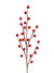 "Berry Branch Spray - 15"" Tall - Box of 48 - Choice of Color"