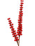 "Berry Spike Spray - 20"" Tall - Box of 12 - Red"
