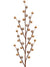 "Mixed Berry Branch Spray - 19"" Tall - Box of 24 - Choice of Color"