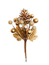Holiday Pine Cone & Berry Pick - Box of 24 - Choice of Color