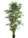 Bamboo Tree - 7' Tall - Set of 2 - Green
