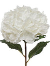 "Hydrangea Stem - 34"" Tall x 10"" Diameter - Box of 12 - Choice of Color"