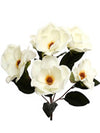 "Magnolia Bush - 22"" Tall - Set of 6 - White"
