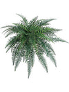 "River Fern - 40"" Diameter with 50 Fronds - Set of 6 - Green"