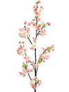"Cherry Blossom Branch Spray - 45"" Tall - Box of 6 - Choice of Color"