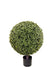 "Boxwood Topiary Ball - 26"" Tall x 16"" Diameter - Green"