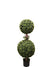 "Boxwood Topiary Double Ball - 35"" Tall - Green"